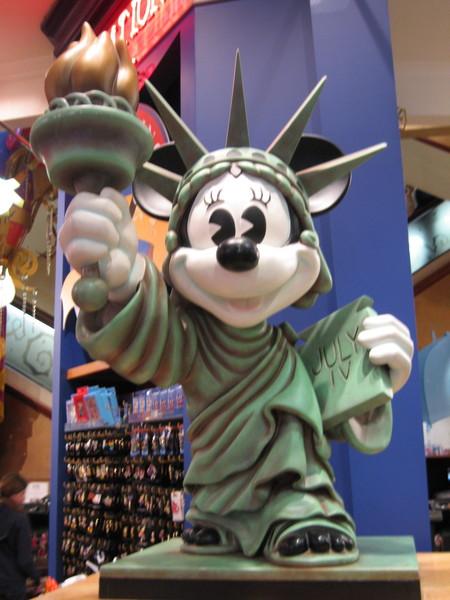 NYC的米奇老鼠