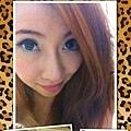 ★教學-清新綠眼妝和繽紛美甲~^^★