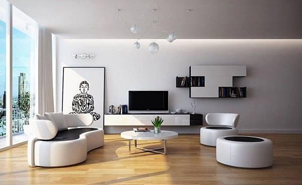 Modern-Black-white-living-room-furniture-665x407