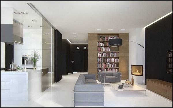 Black-brown-gray-white-living-area-665x415