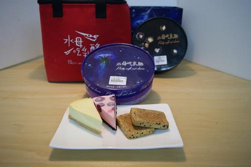 水母乳酪蛋糕年節禮盒首圖