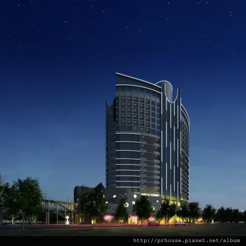 [竹北高鐵] 新竹高鐵特區開發案3D夜景示意圖 2013-10-28.jpg