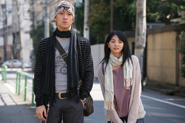 Man樣渡邊大與滿島光在《超級女聲》中合作.jpg