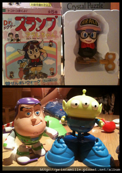 丁小雨&Mr. Potato Head , Buzz Lightyear ,Alien