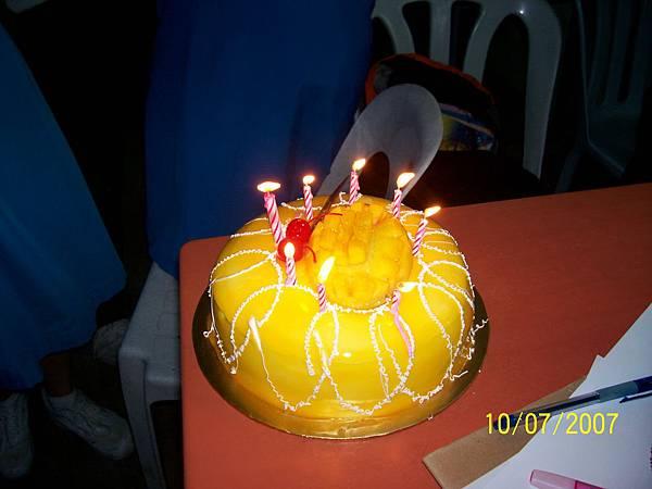 lock's brithday cake