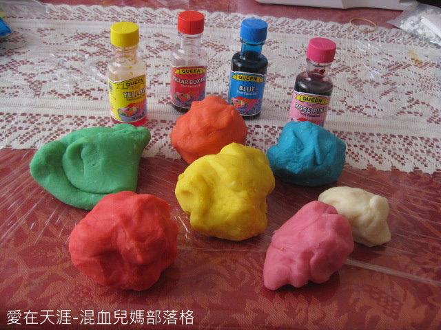 自製黏土play dough DIY