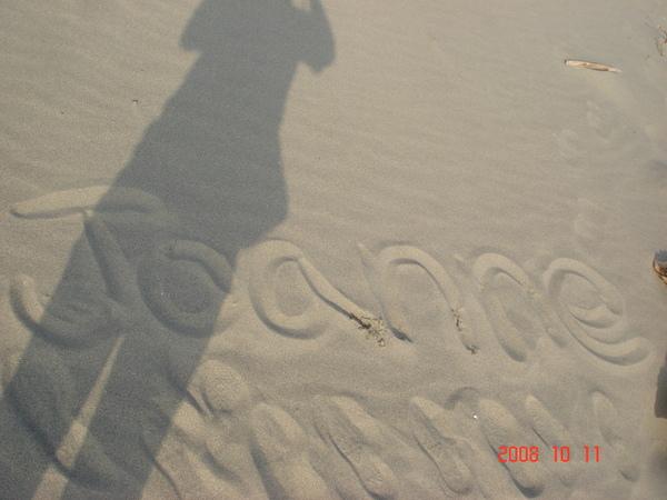 在沙灘上留下我的名字