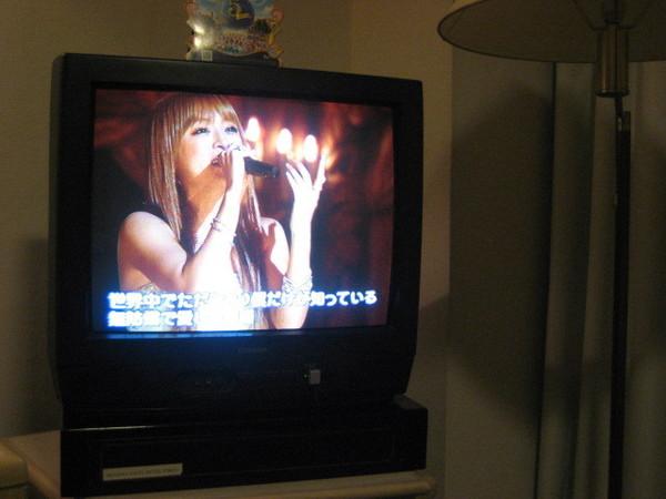 一打開電視就是我最愛的Ayu