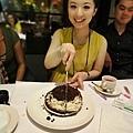 oh ya...黃湘怡的起司巧克力蛋糕!!