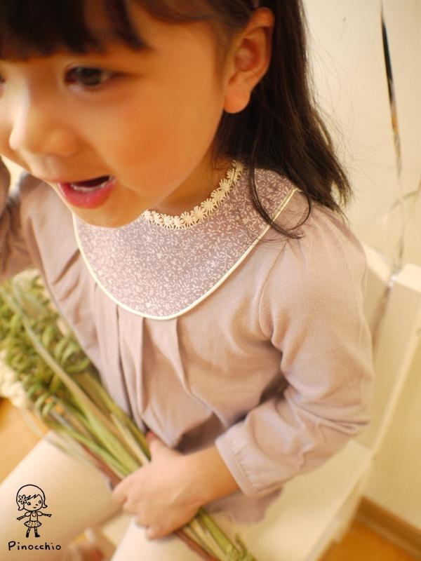 [氣質Girl]可愛素雅薰衣草紫上衣