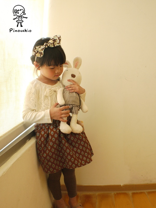 [氣質Girl]米白色蝴蝶結蕾絲上衣