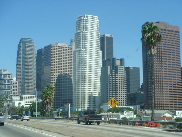 繁榮的城市空氣真好