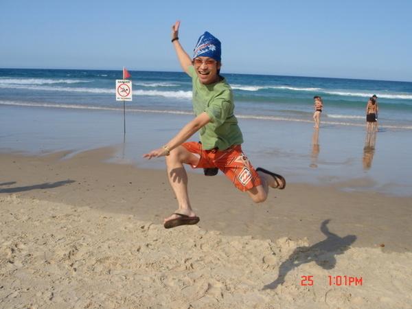 黃金海岸! 我飛起來
