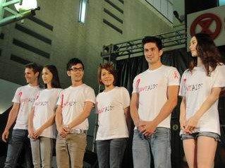2010.05.17  张智成 & 江美琪齐参与国际爱滋烛光日