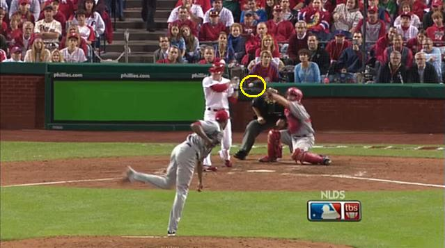 2010 Playoff Phillies G2 Utley HBP-1.jpg
