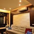 8坪 客廳 8盞崁燈 黃光 900lm 12w