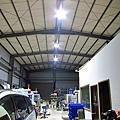 CNC 廠 26米*9,5米7米高 160W VS 1500W