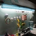 流理台裝燈 支架燈 單管