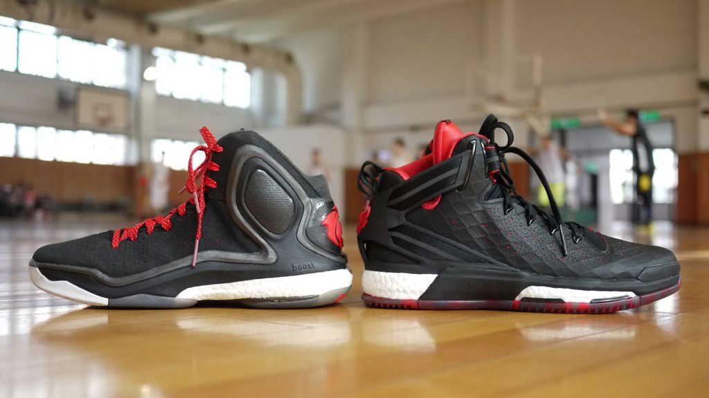 dc34c82bf35  First Impression adidas - D Rose 6 Boost