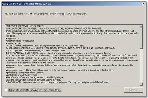 Office 2007相容套件