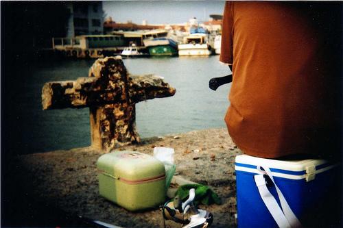 為上鉤的魚兒祈禱