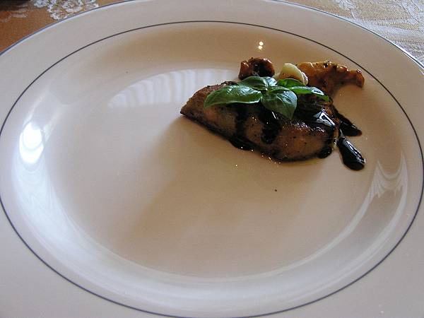 法嵐斯 -- 主廚創意熱菜 -- 香煎鴨肝