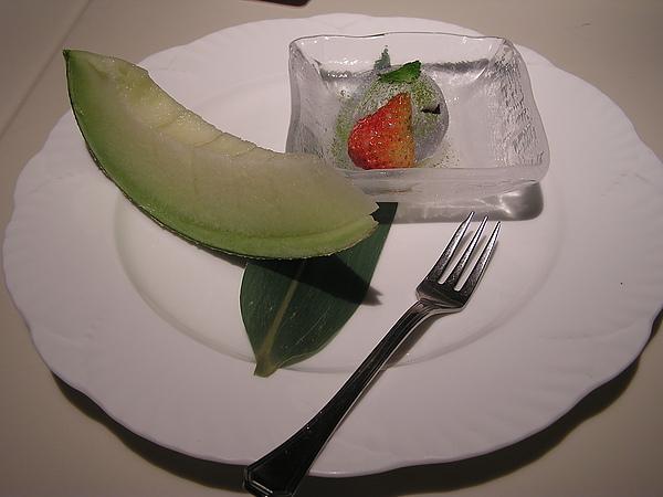 澄江 - 餐後水果 + 甜點