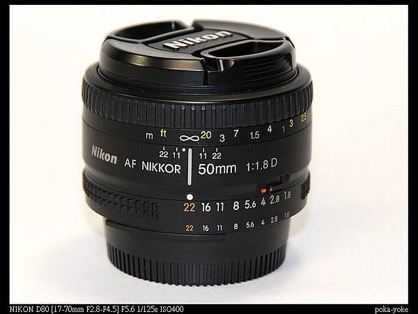 Nikon Nikkor AF 50mm F 1.8 D