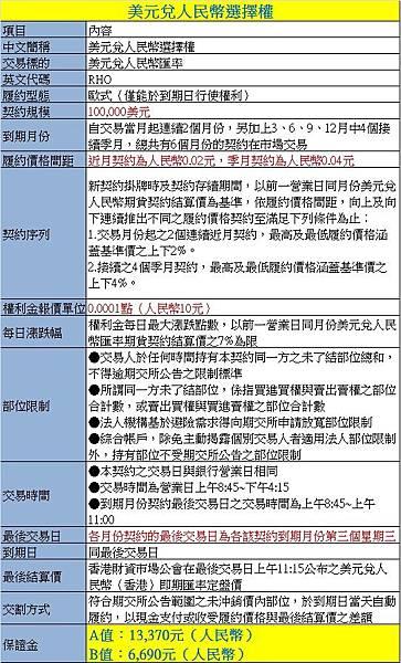 人民幣選擇權2