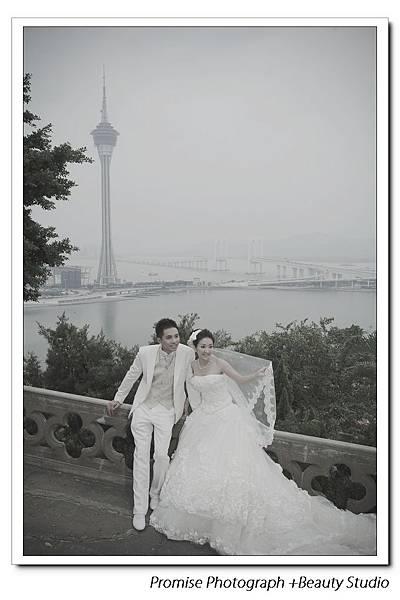 澳門拍婚紗 自助婚紗 Macau pre-wedding
