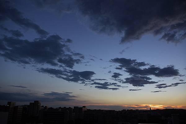 2007/08/16 聖帕颱風來襲前夕 on 電資頂樓