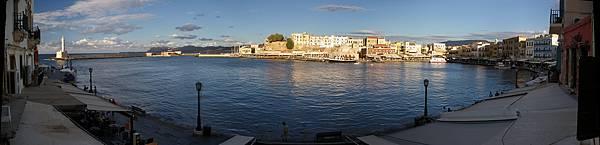 Crete的Hania的威尼斯時代的港口
