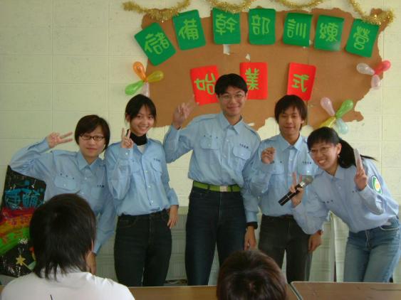 2004始業式-課程組的講師們