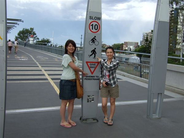 PP & Kanae at Victoria Bridge