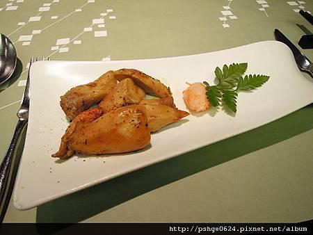 20120605陶板屋-前菜杏苞菇