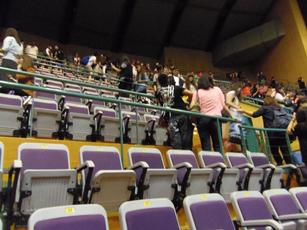 BB演唱會 10/21-散場