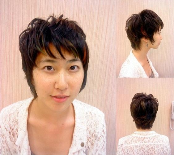 ★ 日系 空氣燙髮 設計 挑染★