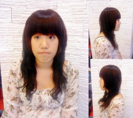 自然捲髮 日式髮型風格