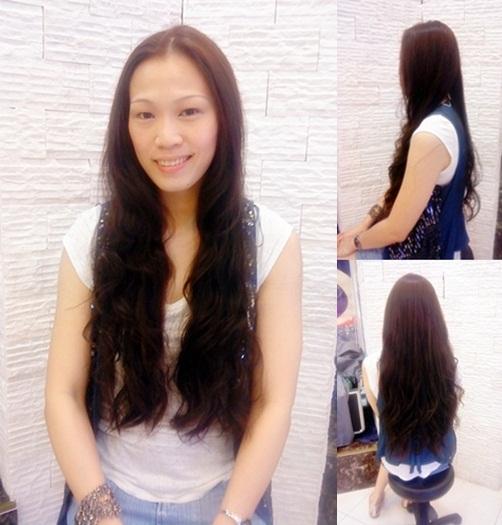 女生長髮 溫碩燙髮