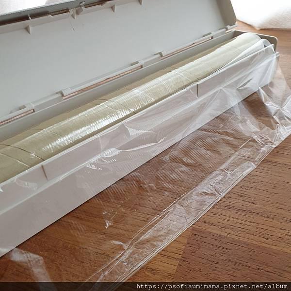 tower磁吸式保鮮膜盒-L(白) 山崎收納 Yamazaki 廚房收納 保鮮膜收納
