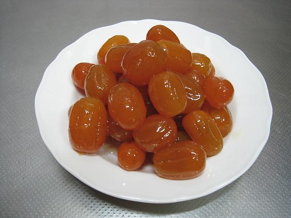 蜜金棗 & 桔餅 & 金棗果醬