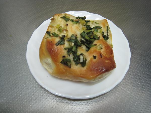 蔥花香蒜麵包
