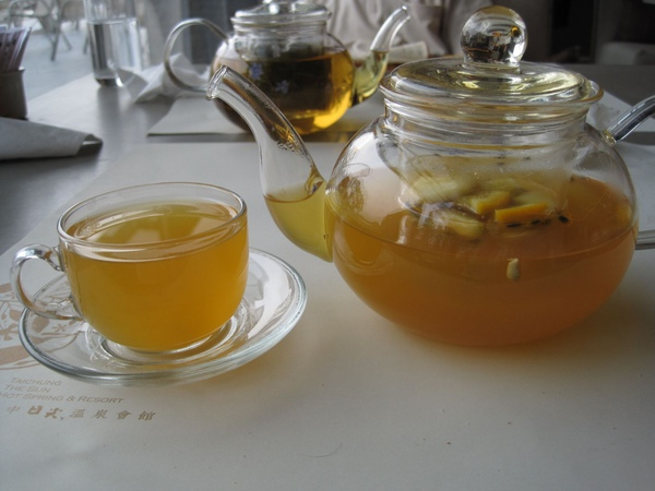 台中日光溫泉會館下午茶+泡湯