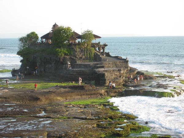 海神廟~~漲潮時像浮在海上的小島