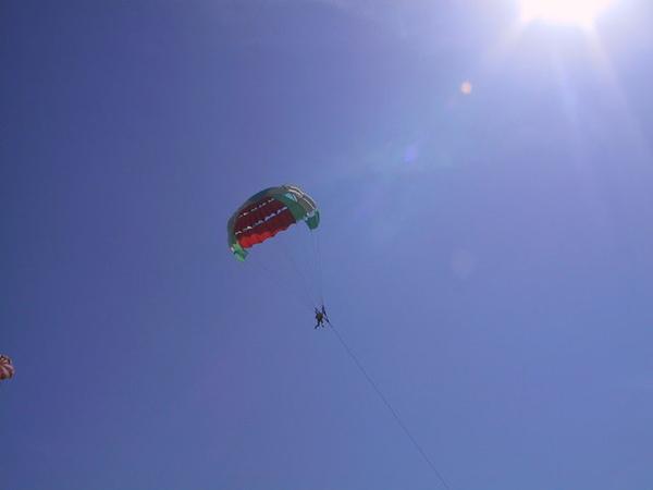 在空中可看到峇里島全景