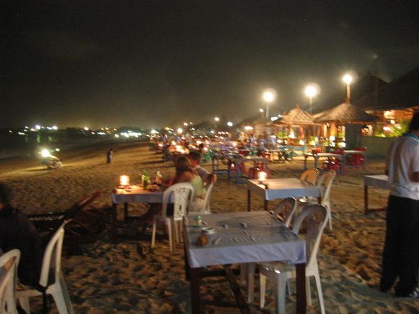 難忘的海邊晚餐