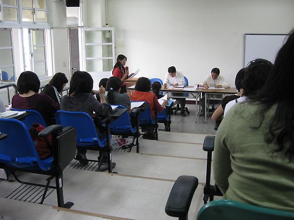 第ㄧ學期期末檢討會議
