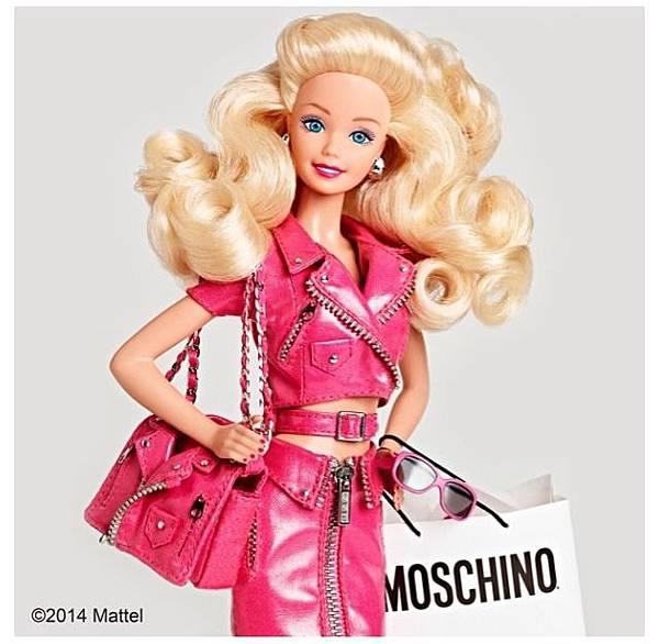 Moschino Spring 2015 Fashion Week barbie