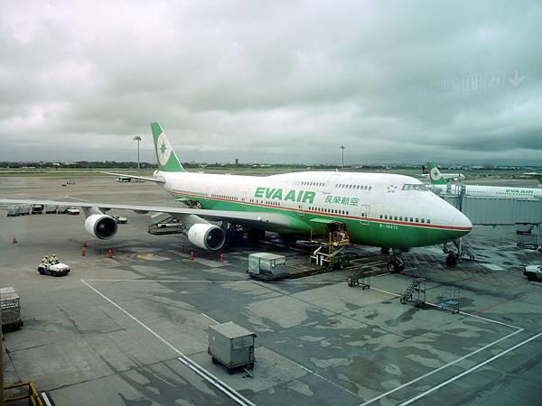 長榮的波音747