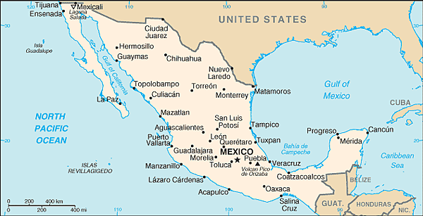 Mexico-CIA_WFB_Map_(2004)